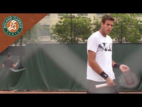 Portrait - Juan Martin del Potro | Roland-Garros