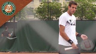 Portrait - Juan Martin del Potro   Roland-Garros