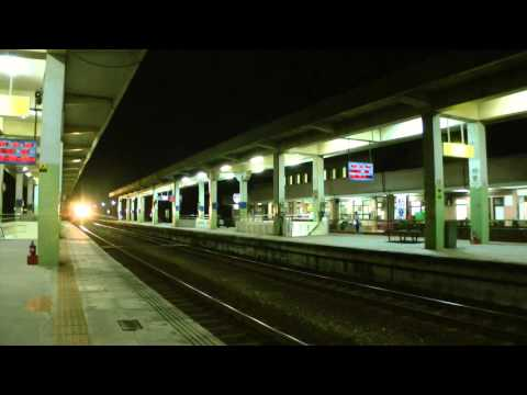 [HD] The Taiwan TRA up Tze-Chiang Limited Express DMU DR2800 Train No. 324 at Fangliao Station