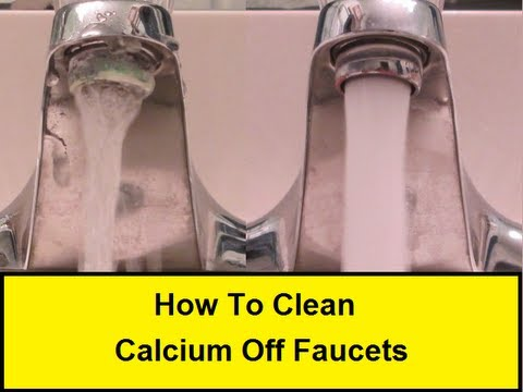 High Quality How To Clean Calcium Off Faucets (HowToLou.com)