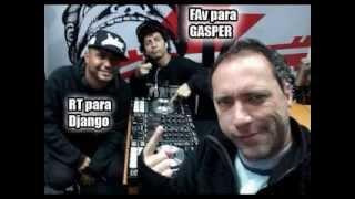 Gasper vs Django en estudio 92(completa sin comerciales)