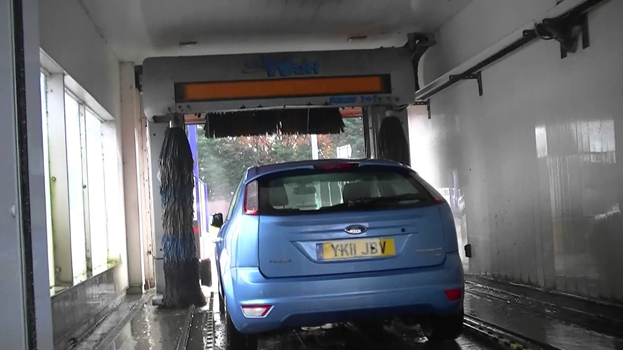 Spray Car Wash >> Christ Primus 1+1 car wash top wash outside view - YouTube