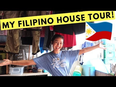 my REAL FILIPINO HOUSE TOUR! (living in the Philippines)