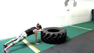 19 tire exercises