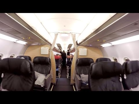 Ika to Ist 2017 - Turkish Airlines A321-Tehran to Istanbul-Gopro Hero4-Flight Report