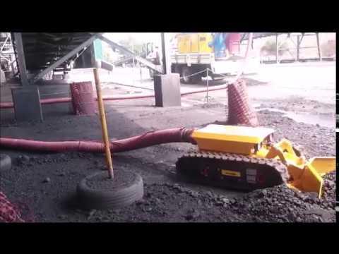 Robot Mole Conveyor Cleaning Unit