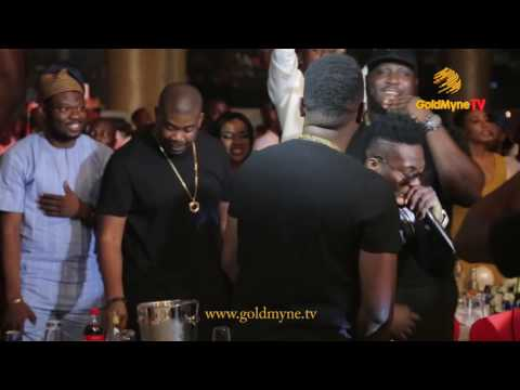 REEKADO BANKS' PERFORMANCE AT - YAW & AY #SHALANGA