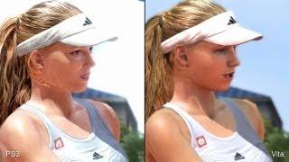 Virtua Tennis 4: PS Vita vs. PlayStation 3 Comparison