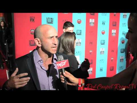 Christopher Neiman at the American Horror Story: Freak  Premiere AHSFREAK