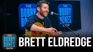 Brett Eldredge Talks New Album & The One Song That's Ever Made Him Cry During Recording