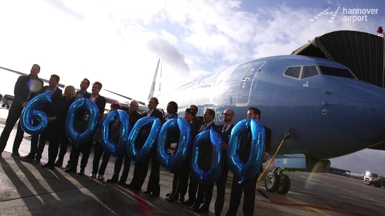 Hannover Airport Zahlt Seinen 6 Millionsten Passagier