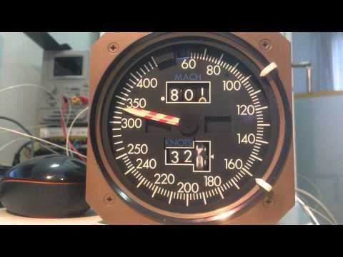 Airspeed Indicator ARINC test