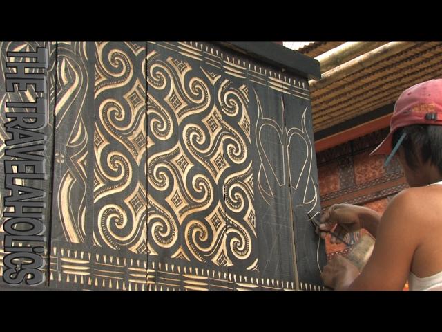 Wood Carving Toraja Sulawesi Indonesia