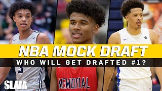 The 2021 NBA Mock Draft is LOADED‼️ Who will get Drafted #1 ⁉️👀