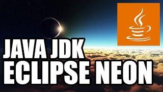 Descargar e Instalar Java SE (JDK) y Eclipse Neon   Ultima Versión   Tutorial en Español