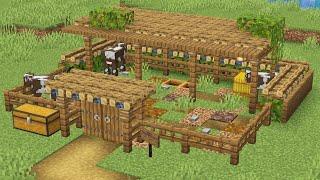 видео майнкрафт как сделать ферму животных