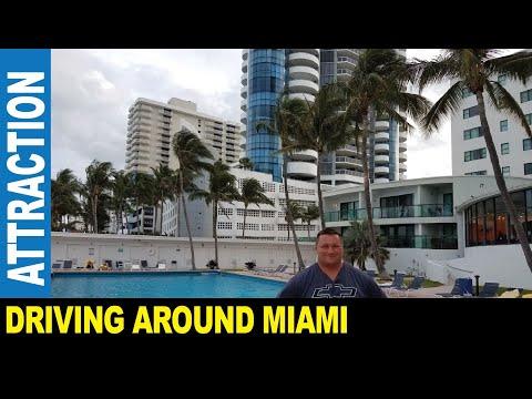 Jarek presents : DRIVING AROUND MIAMI DOWNTOWN & SOUTH BEACH GOPRO VIEW, Florida USA
