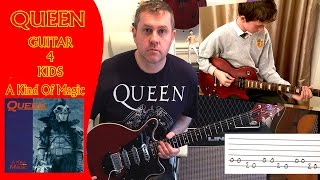 A Kind Of Magic - Queen Guitar 4 Kids - Tutorial Lesson
