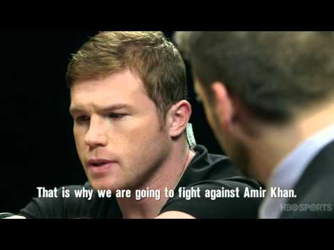 Watch: Canelo-Khan 'Face Off' with Max Kellerman