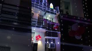 Diwali decoration idea - home made, paper work, balloon, haryana