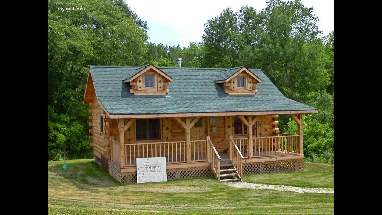 Como hacer una casa de madera sencilla youtube for Crear mi casa en 3d