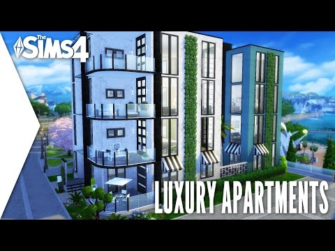 THE SIMS 4 SPEED BUILD #137 - LUXURY APARTMENTS