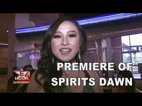 E-HOUR: The premiere of Spirits Dawn at New Vision Theater in Oakdale, MN.