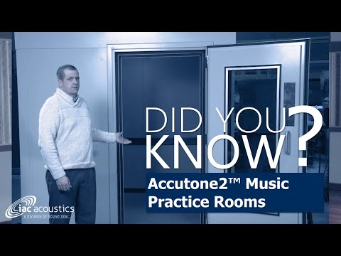 IAC Acoustics Did You Know -- Accutone2 Music Practice Rooms