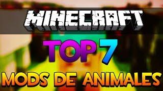 TOP 7 MEJORES MODS DE ANIMALES EN MINECRAFT 1.7.2/1.7.10/1.8