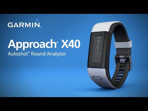Garmin Approach X40: Measuring Distance with AutoShot