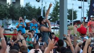 """Andy Mineo """"Superhuman"""" II Live in Houston Texas @ Boomin In Discovery Green // @AndyMineo @Ngen"""