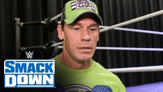 "Cena teases his ""strong words"" in store for Bray Wyatt: SmackDown Exclusive: April, 3 20.."