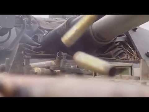 Стрельба из БМП-3.