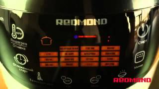 Мультиварка REDMOND RMC M90 рецепт постные щи   Multicooking REDMOND M90