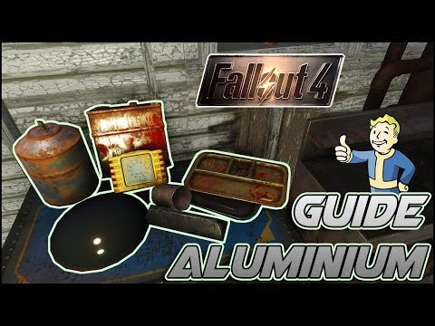 Guide Aluminium Fallout 4 / How To Get Aluminium and Shipment vendor list