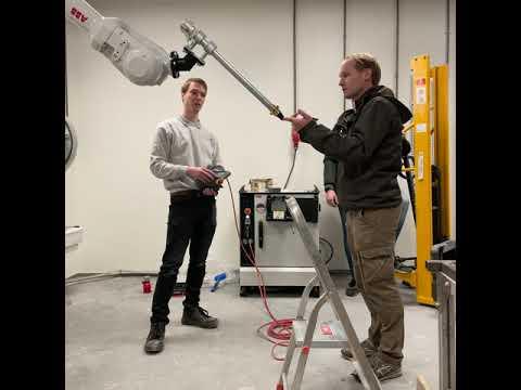 Robot installation!