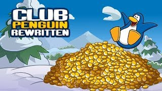 CLUB PENGUIN REWRITTEN COIN GLITCH!
