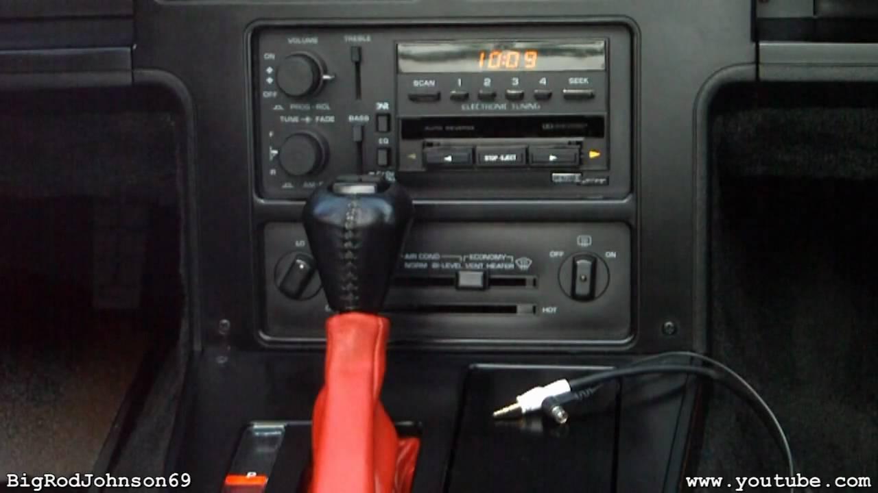 1986 Corvette Radio Wiring Diagram 84 1984 Chevrolet Corvette Delco Bose Headunit Youtube