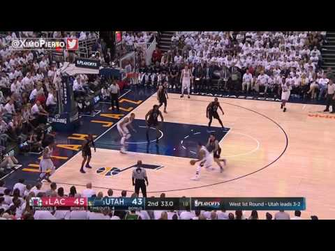 LA Clippers vs Utah Jazz - Full Game Highlights | Game 6 | 2017 NBA PLAYOFFS| April 28, 2017 |