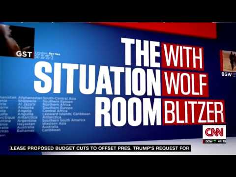 CNN's The Situation Room Intro 2017