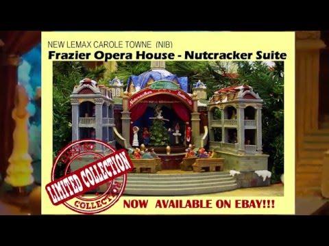 LEMAX CAROLE TOWNE NUTCRACKER SUITE -FRAZIER OPERA HOUSE -  HOT ITEM FOR 2015!