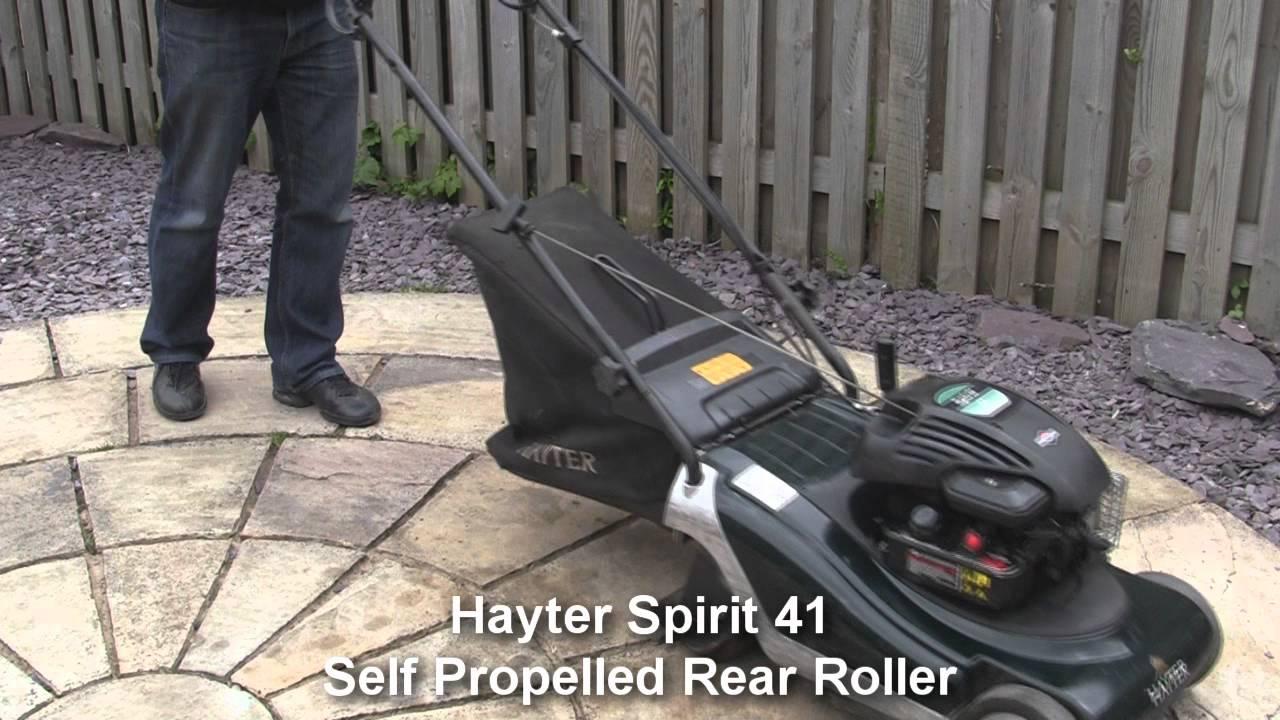 Hayter Spirit 41 Petrol Lawnmower Test Review Youtube