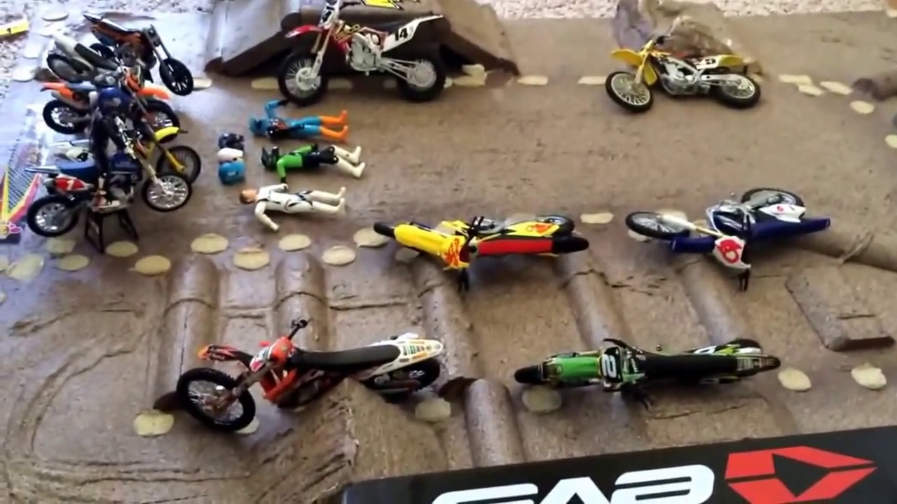 Toy Dirtbike Collection Youtube