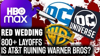 HBO Max Red Wedding: Fires 800+ DC Comics & WB Employees Days Before Fandome