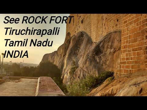 Rock Fort Temple, Tiruchirapalli, Tamil Nadu, INDIA
