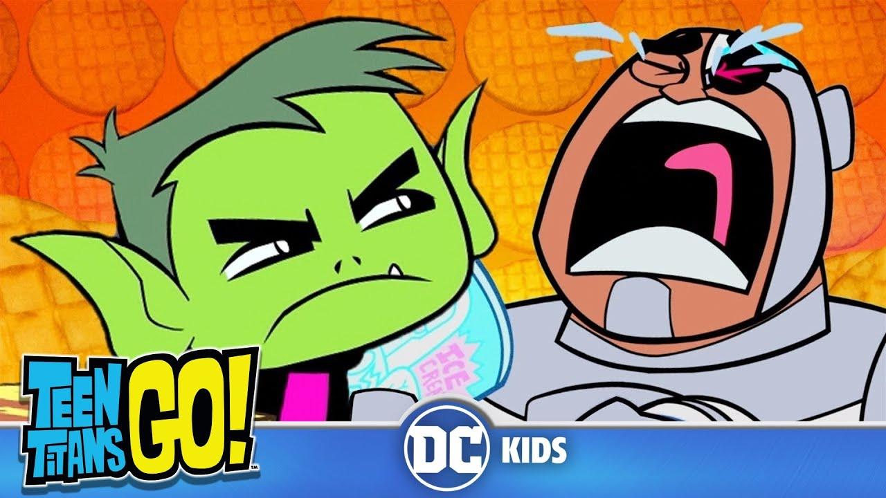 Teen Titans Go  Food Glorious Food  Dc Kids - Youtube-7572