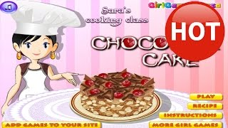 Sara's Cooking Games - Sara's Chocolate Cake