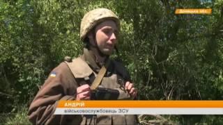 Обстрелы под Докучаевском  Боевики подняли снайперов и выставили Грады