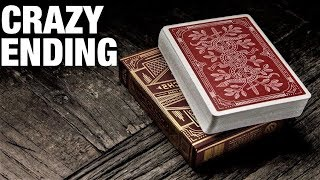 This INCREDIBLE Card Trick Will Make Your Spectator Think Twice!