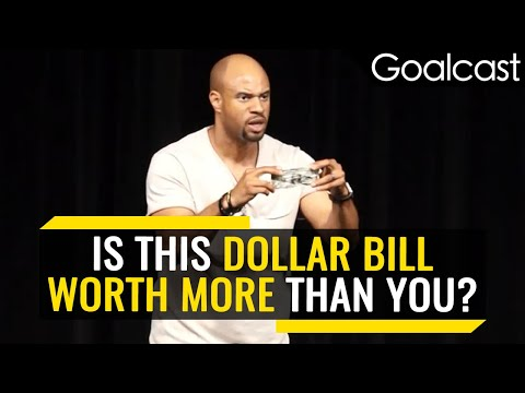 Define Your Worth! You vs A Dollar Bill (Inspiring Speech) | Jeremy Anderson | Goalcast